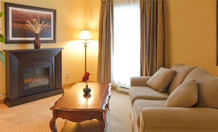 Suite luxueuse - Hotel Brossard